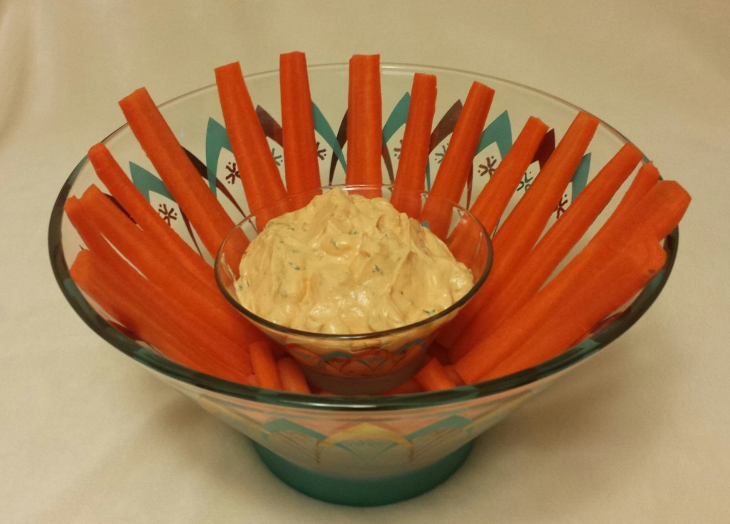 Carrots and dip use