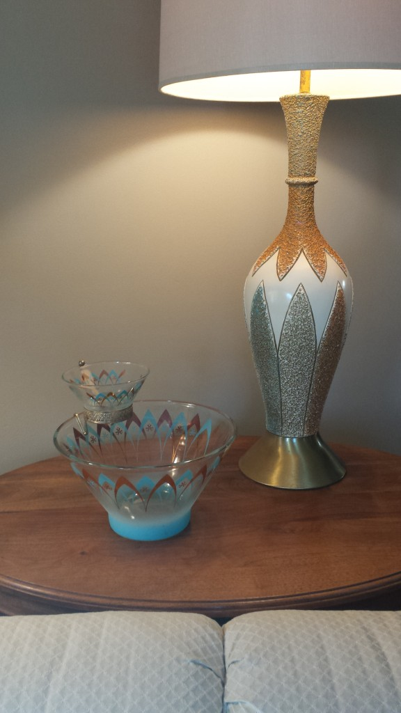 Lamp and bowl use